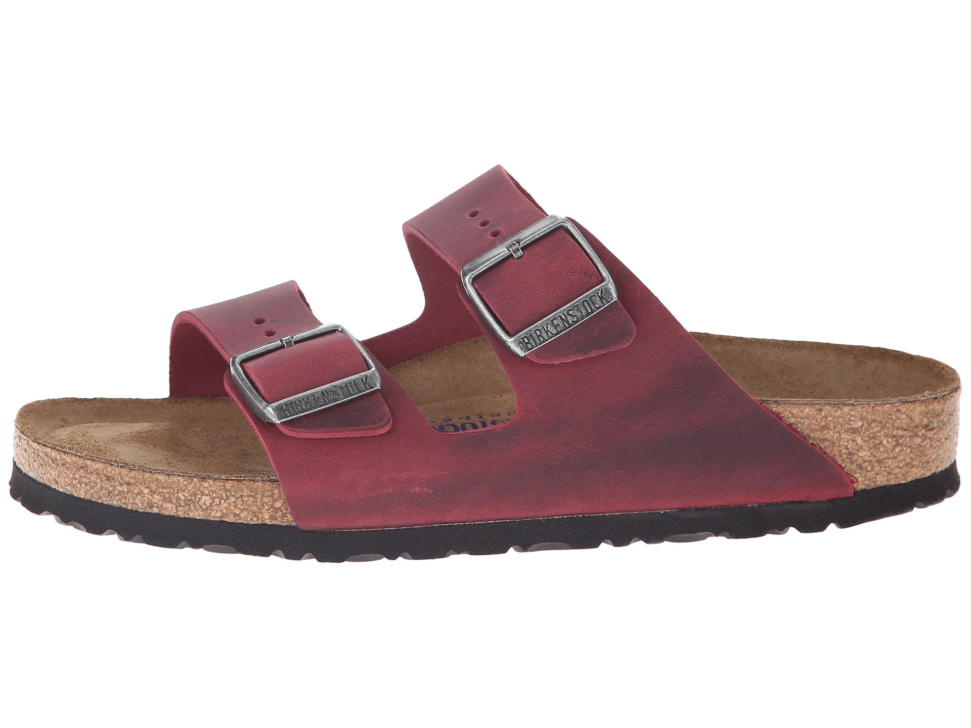 Lyst - Birkenstock Arizona Soft Footbed in Purple