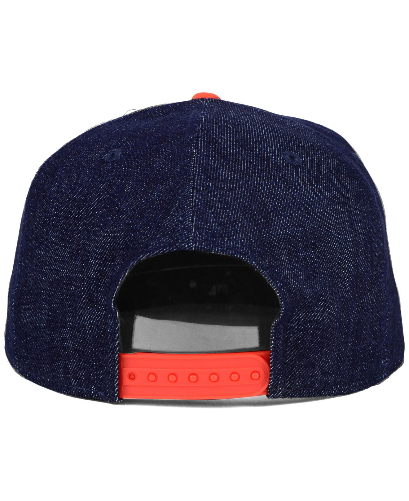 8f0780b1526 ... reduced lyst ktz san francisco giants denim suede 9fifty snapback cap  in 3f0da 988f8