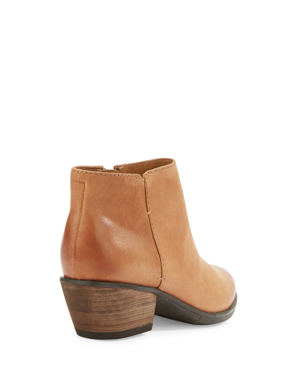 Clarks Gelata Italia Leather Ankle Boots in Brown | Lyst