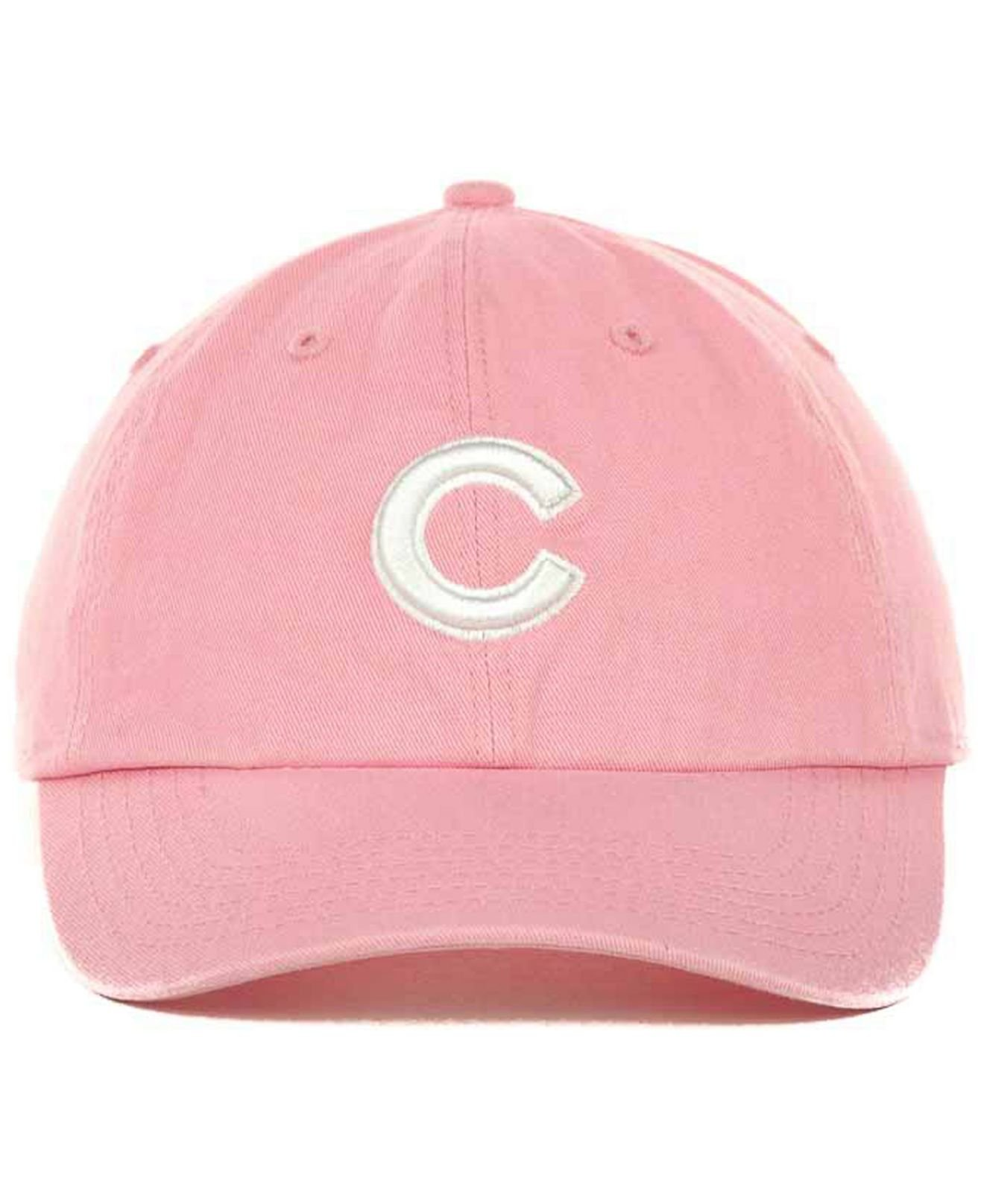 Lyst - 47 Brand Chicago Cubs Clean Up Hat in Pink for Men 5d5c2f85793
