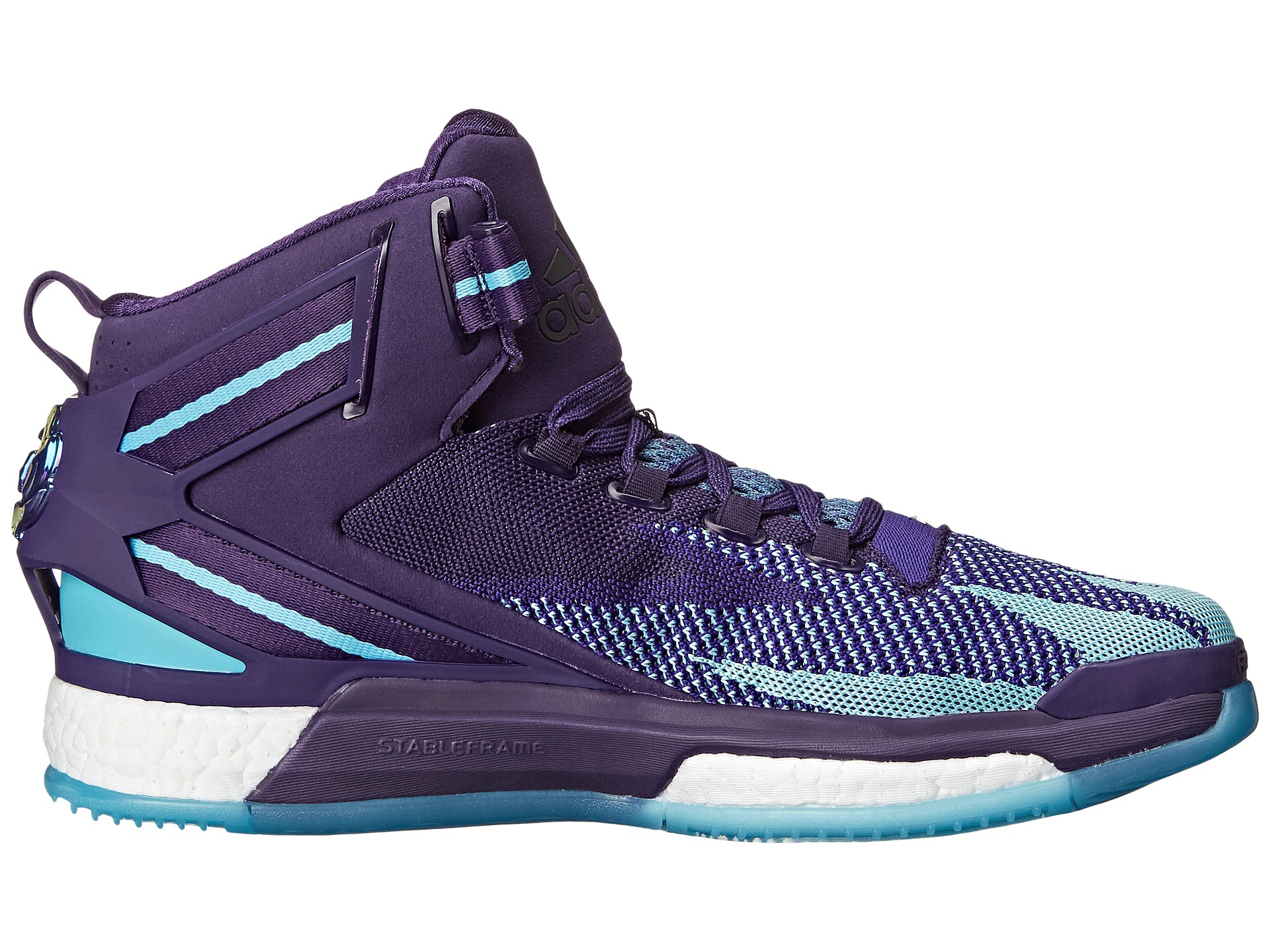 3e748d42287d ... where to buy lyst adidas originals derrick rose 6 boost in purple for  men 0a03a 23ca9
