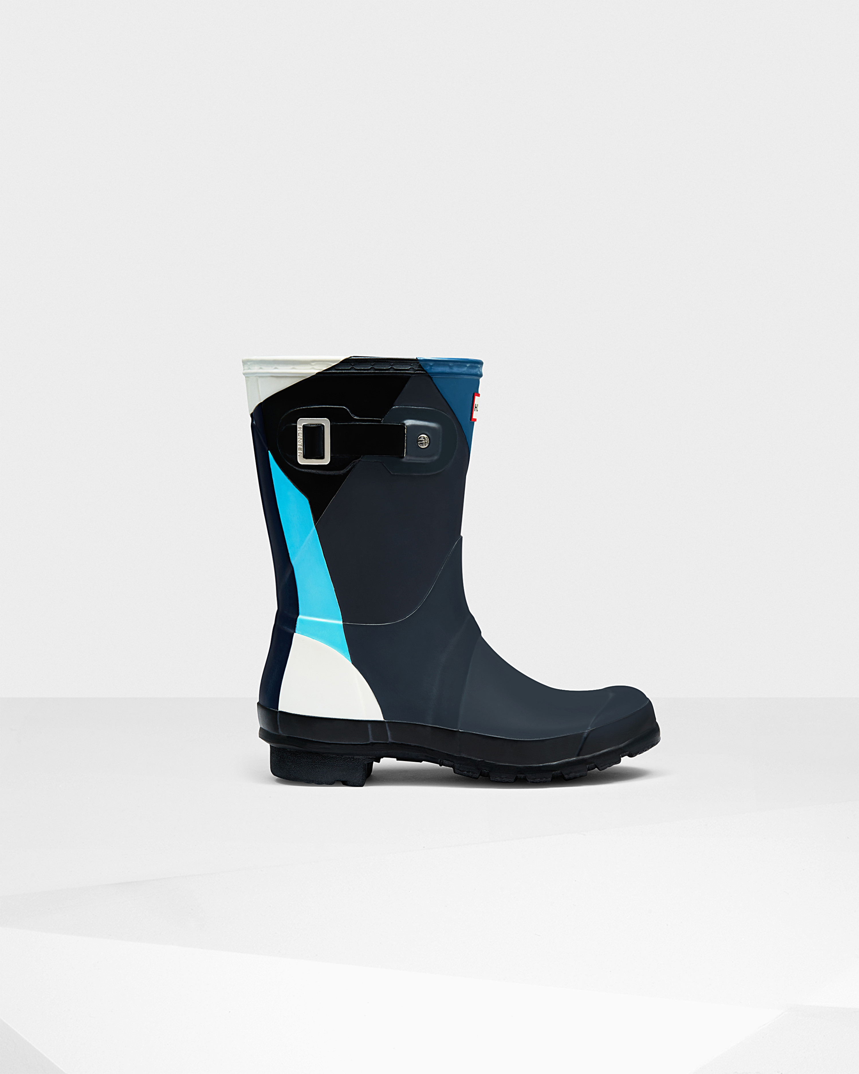 how to wear blue hunter rain boots