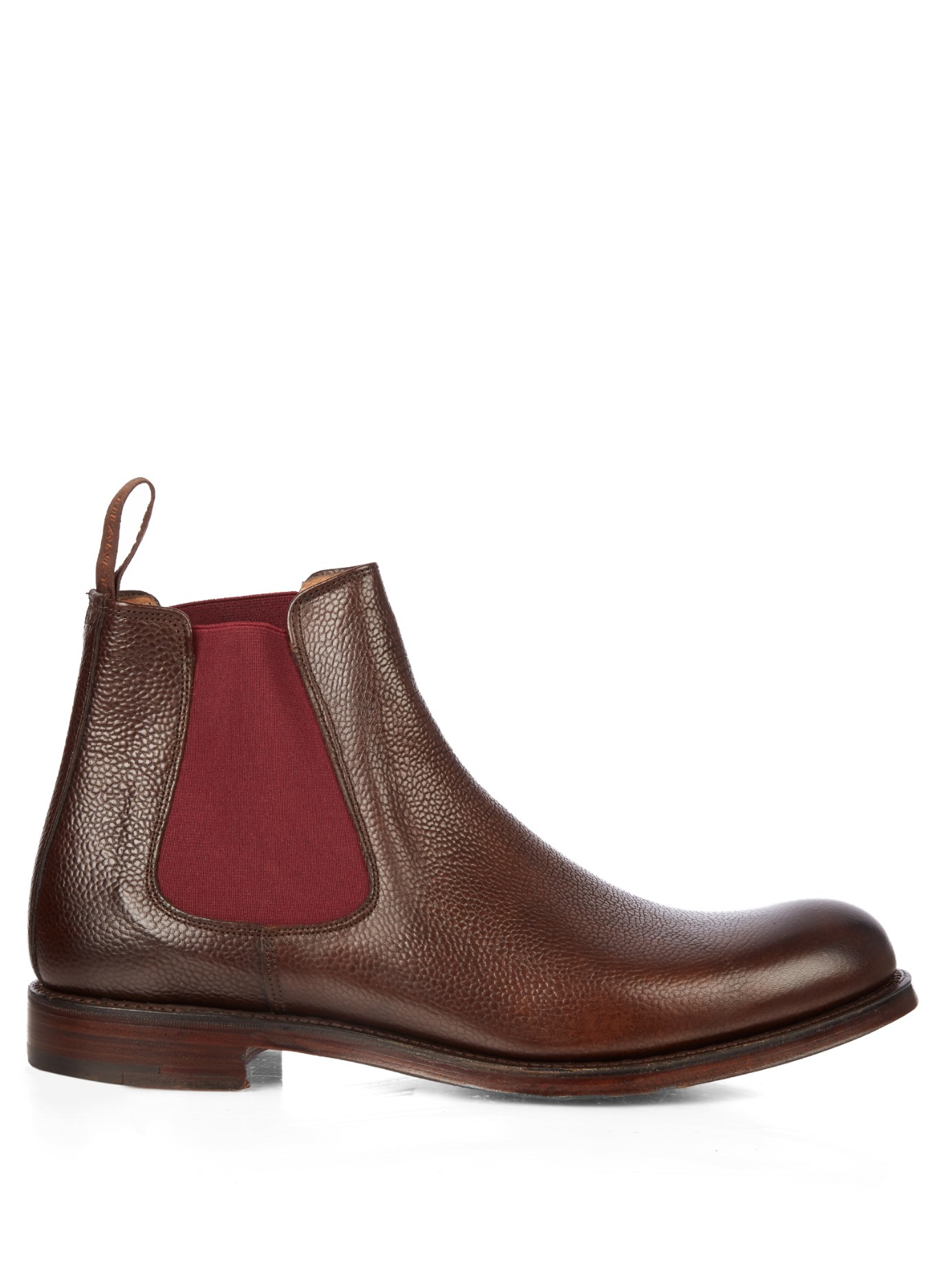 cheaney barnes ii chelsea boots in brown for men lyst. Black Bedroom Furniture Sets. Home Design Ideas