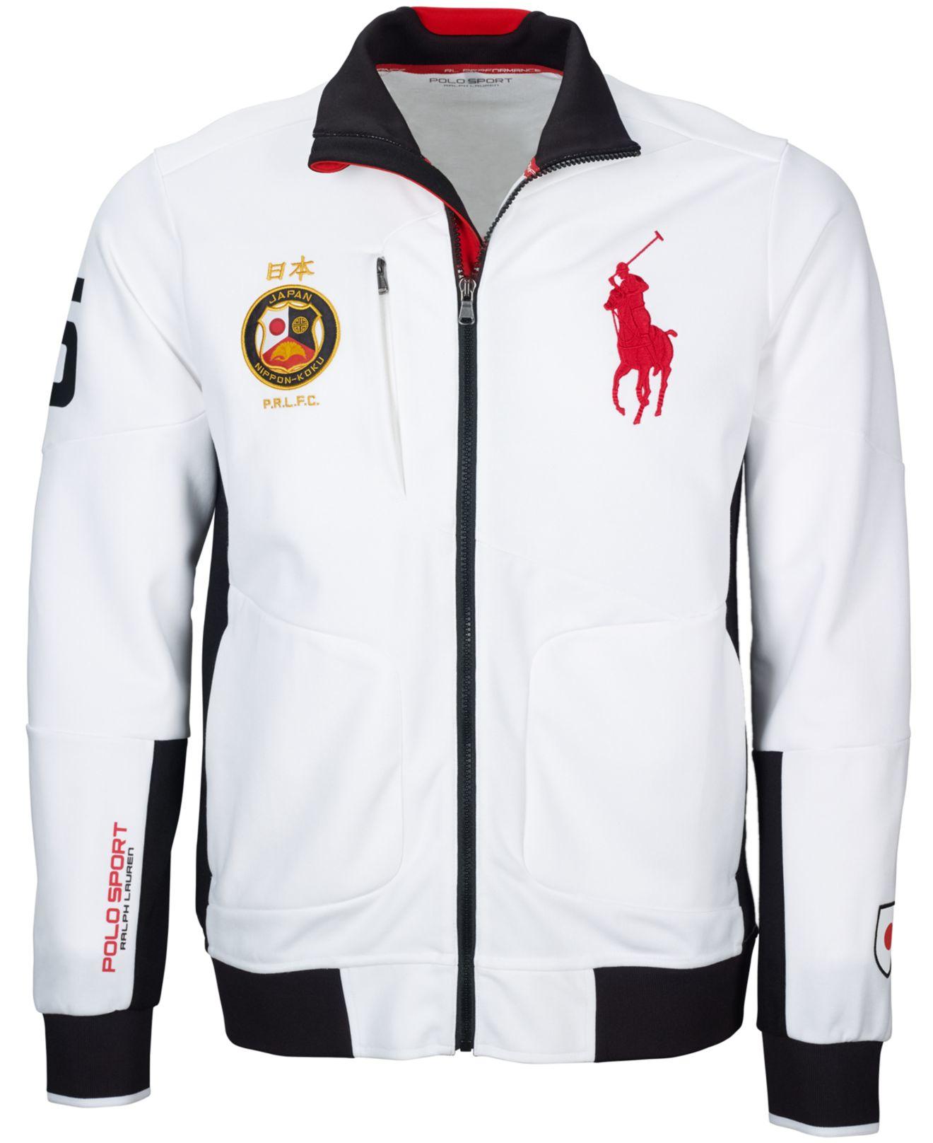 125f77323 Polo Ralph Lauren Polo Sport Japan Full-zip Track Jacket in White ...