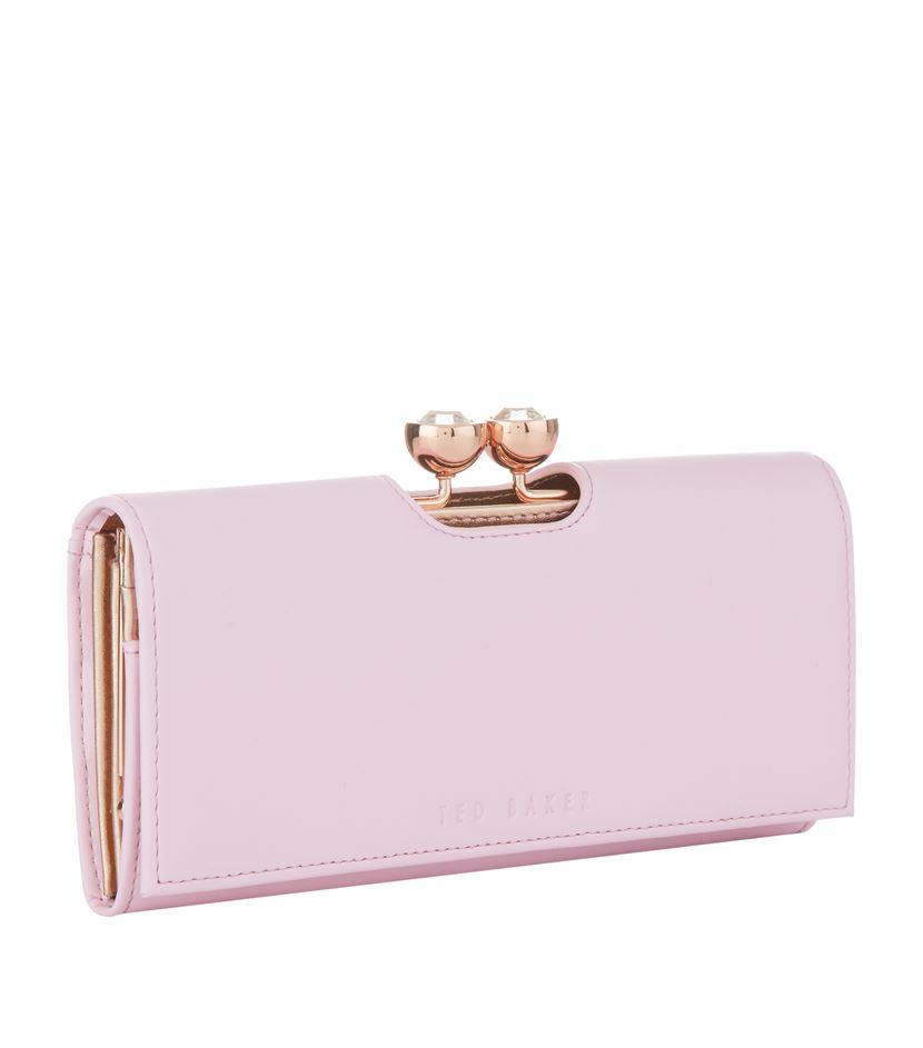 af6232133194 Ted Baker Kassady Crystal Bobble Matinee Purse in Pink - Lyst