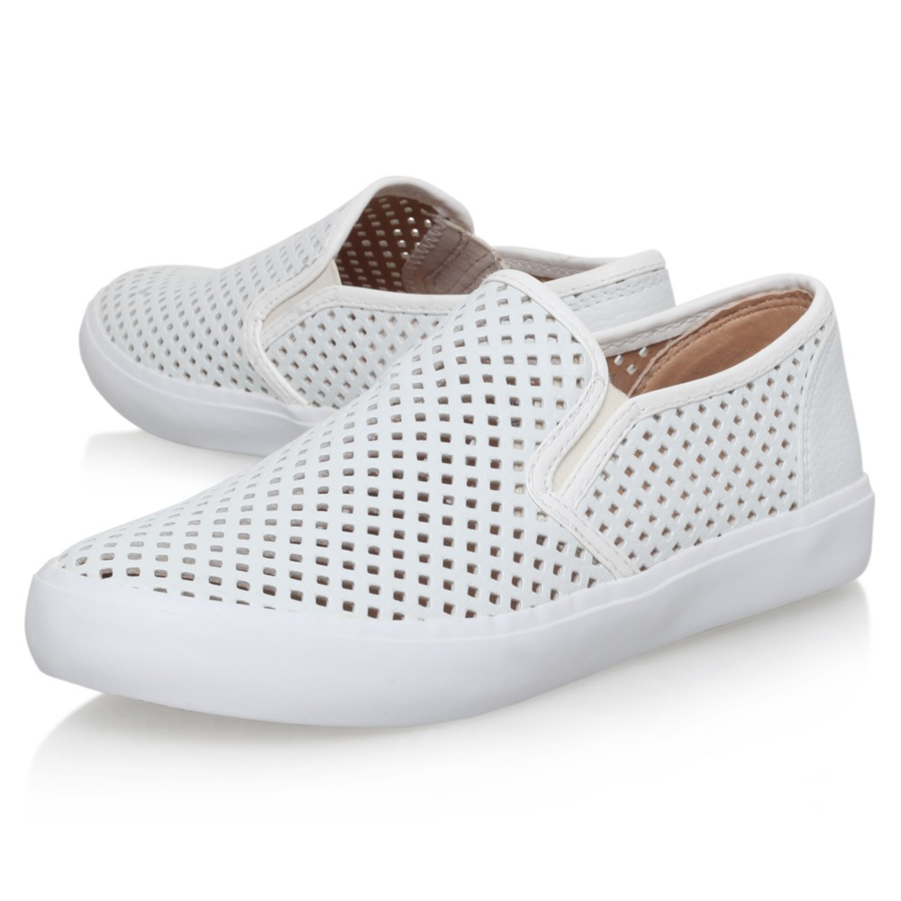 Miss Kg Laila Slip On Trainers in White - Lyst bb02cfcd473