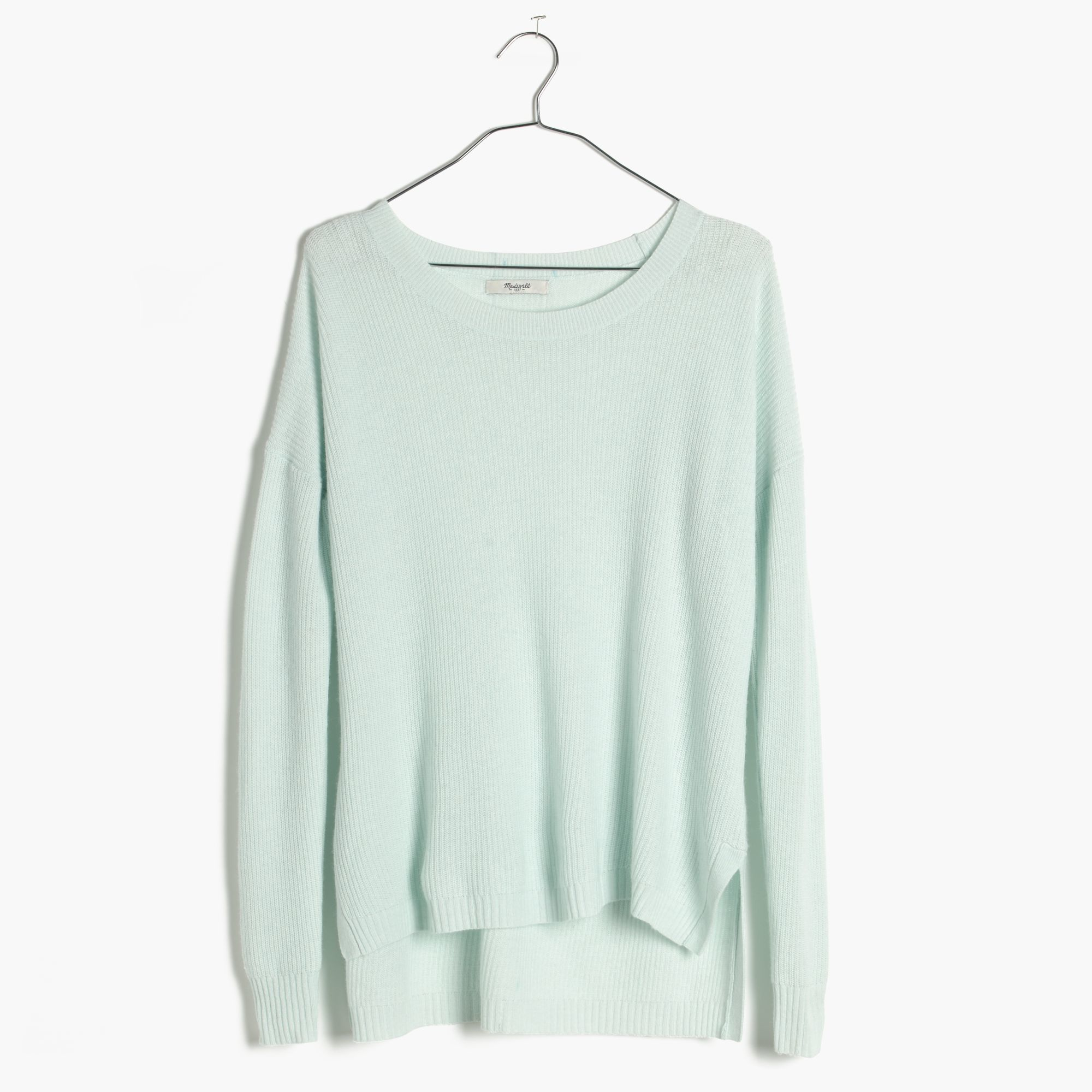 Madewell Warmlight Pullover Sweater in Blue | Lyst