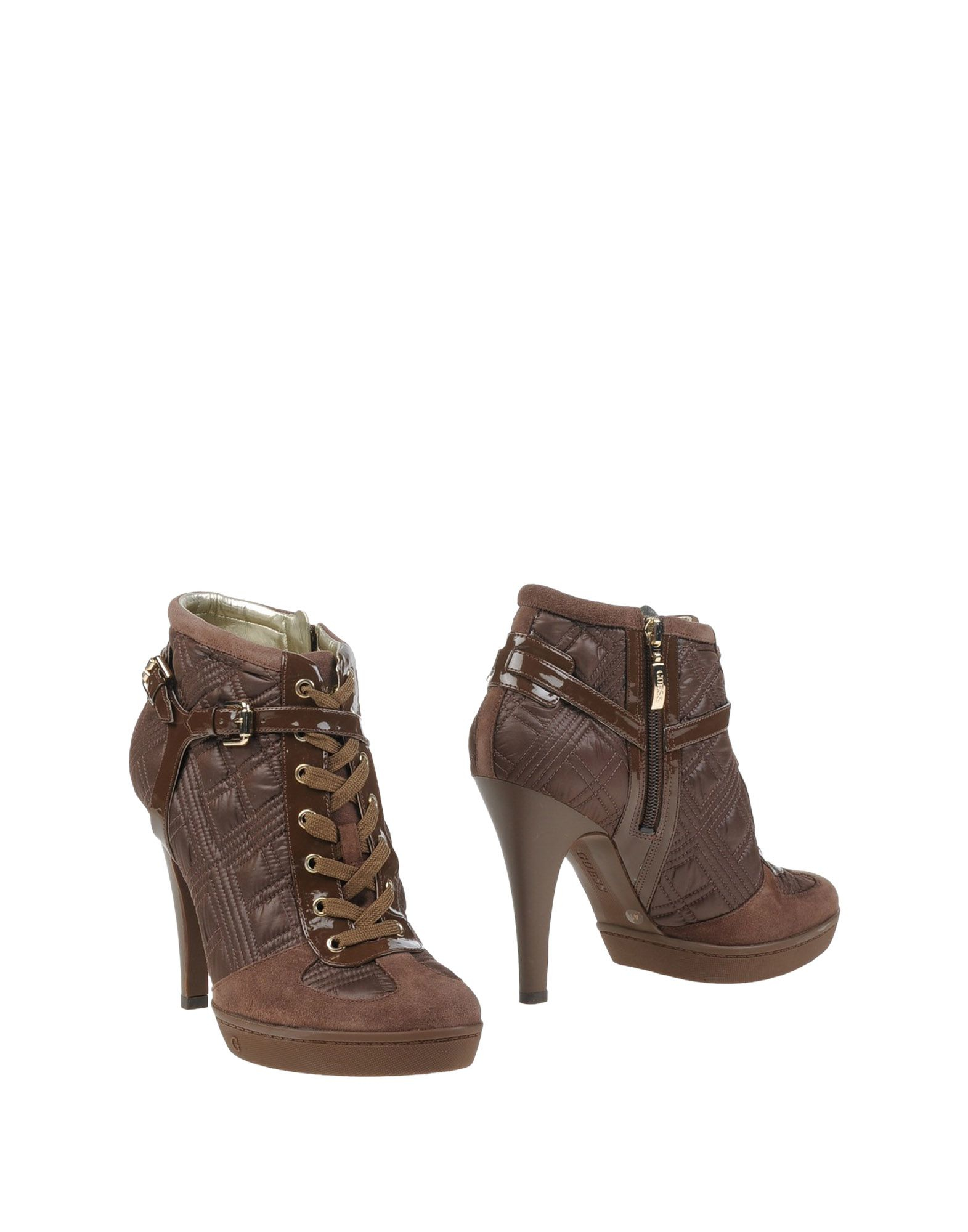 guess ankle boots in lyst