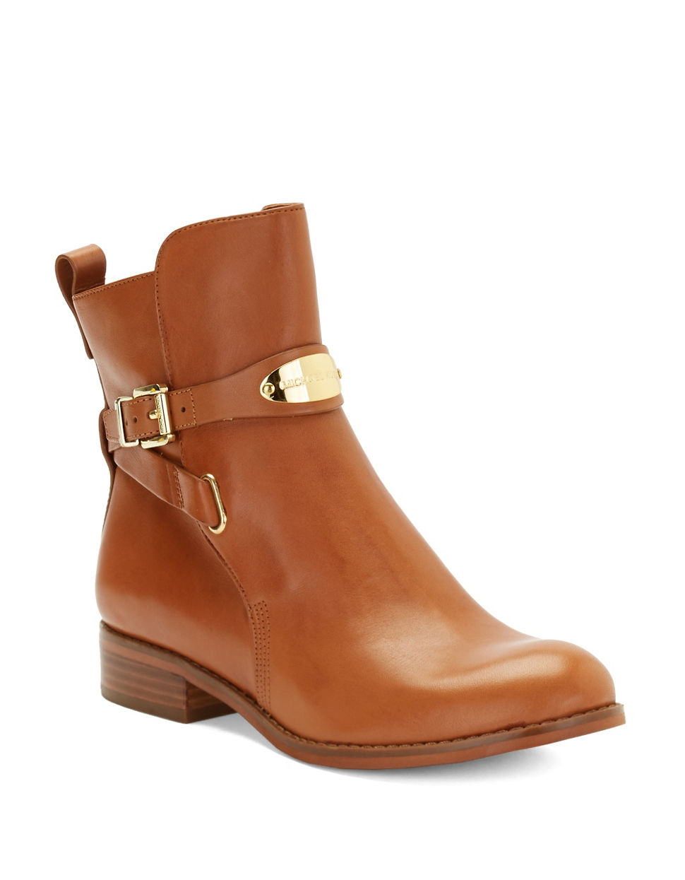 d45d3202637 Lyst - Michael Michael Kors Arley Ankle Boot in Brown