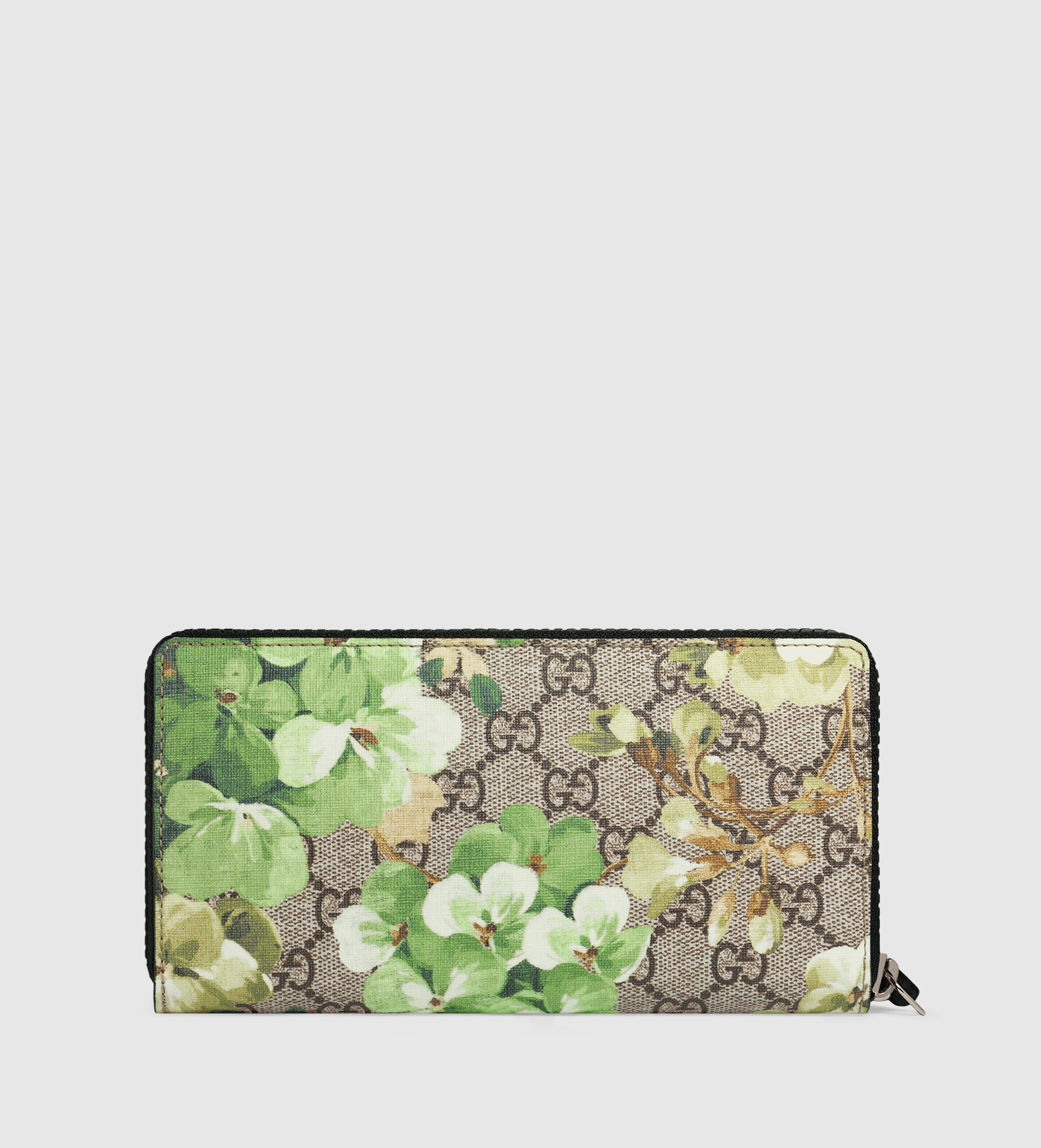 a290009d261 Lyst Gucci Gg Blooms Zip Around Wallet For Men