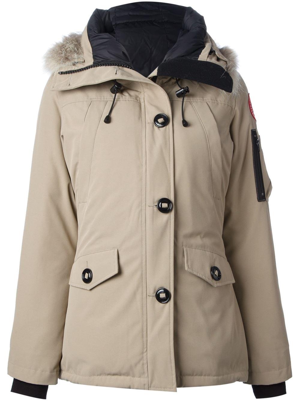 Canada Goose chateau parka online discounts - Canada goose 'montebello' Parka Jacket in Beige (nude & neutrals ...