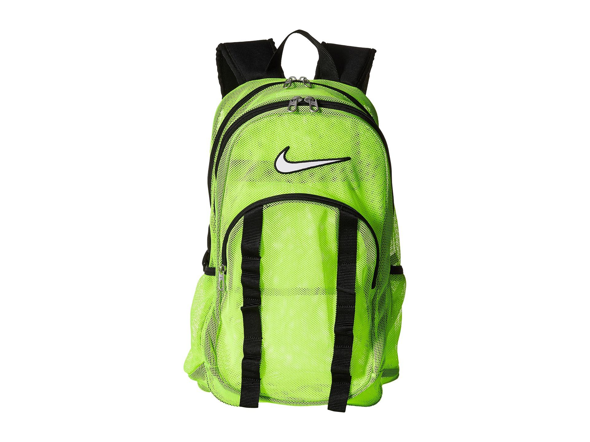 4516beaac1 Lyst - Nike Brasilia 7 Backpack Mesh Large in Green