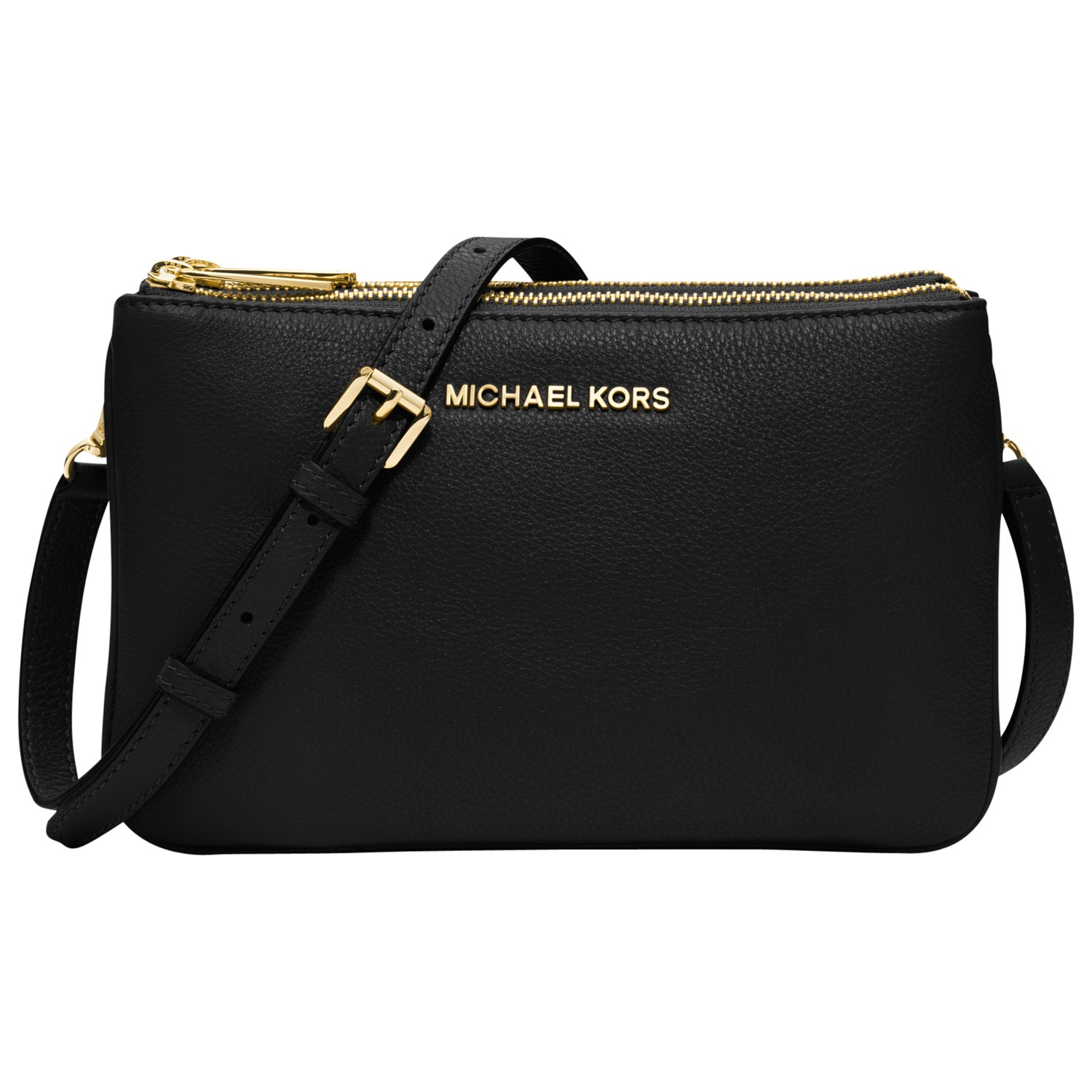 d762432d8354 MICHAEL Michael Kors Bedford Gusset Small Leather Across Body Bag in ...