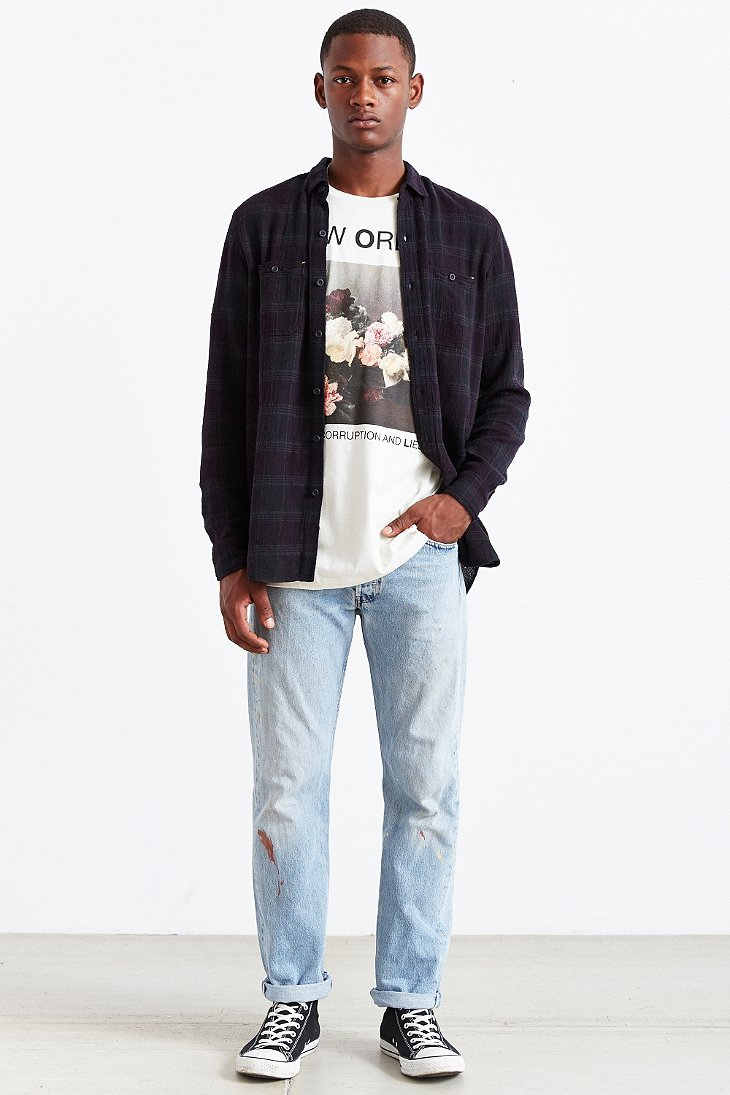 Lyst Urban Outfitters New Order Tee In White For Men
