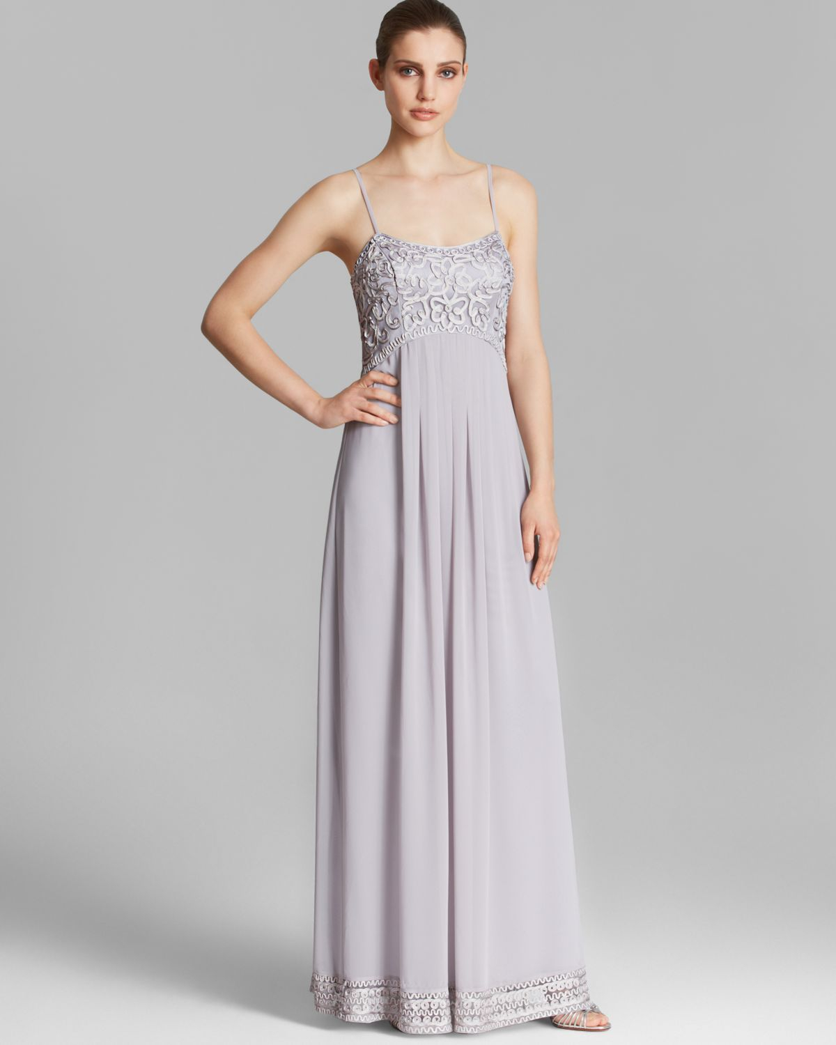 Sue Wong Evening Dresses Grey | Dress images