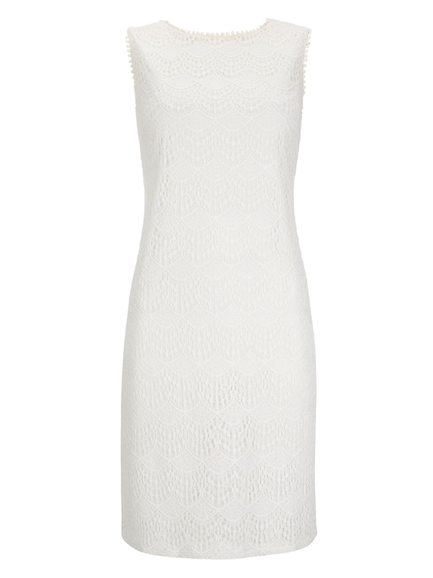 Wallis Summer Lace Shift Dress In White Lyst