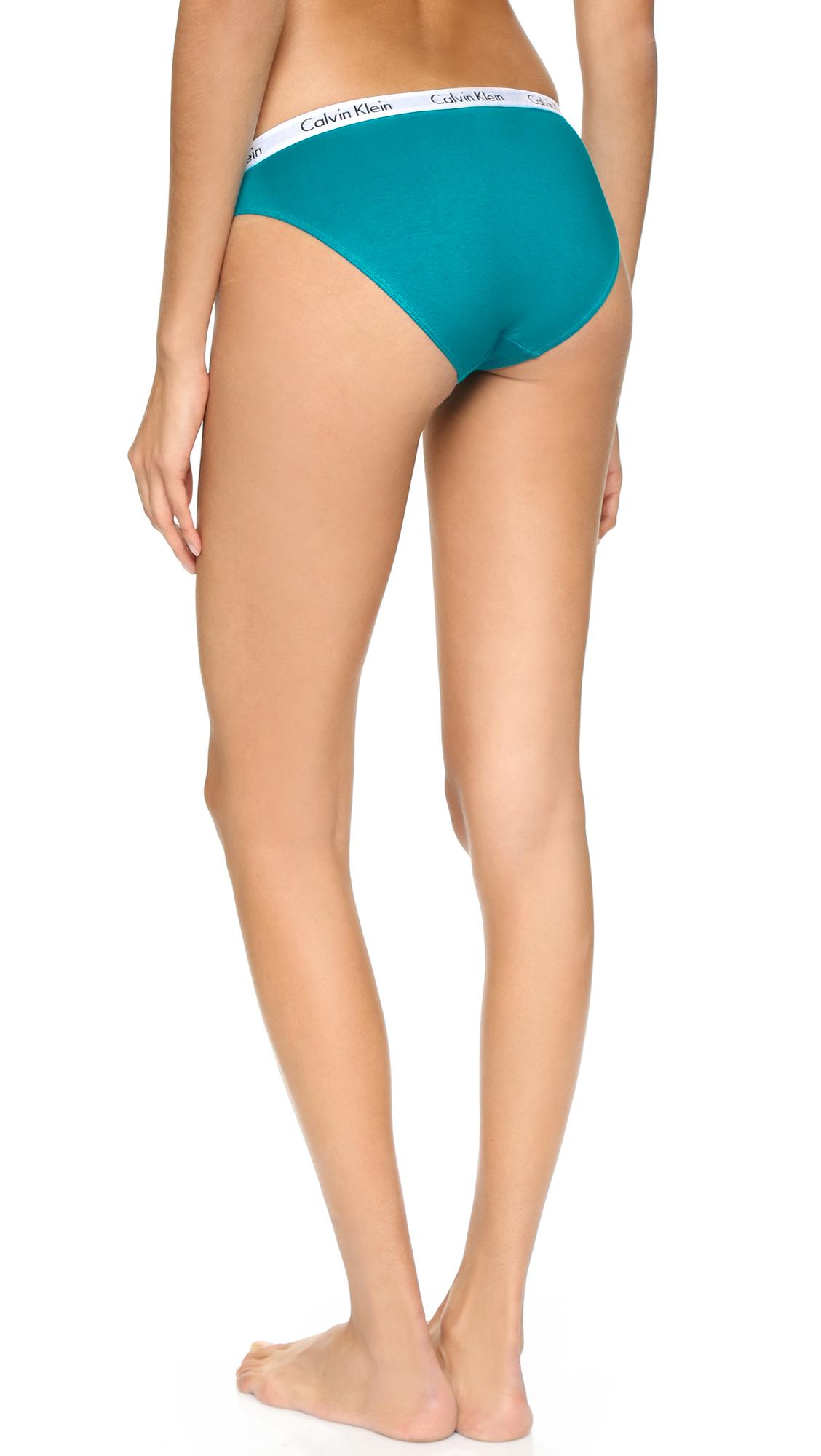 36f1263a8 Calvin Klein Carousel 5 Pack Bikini Briefs - Multi in Blue - Lyst