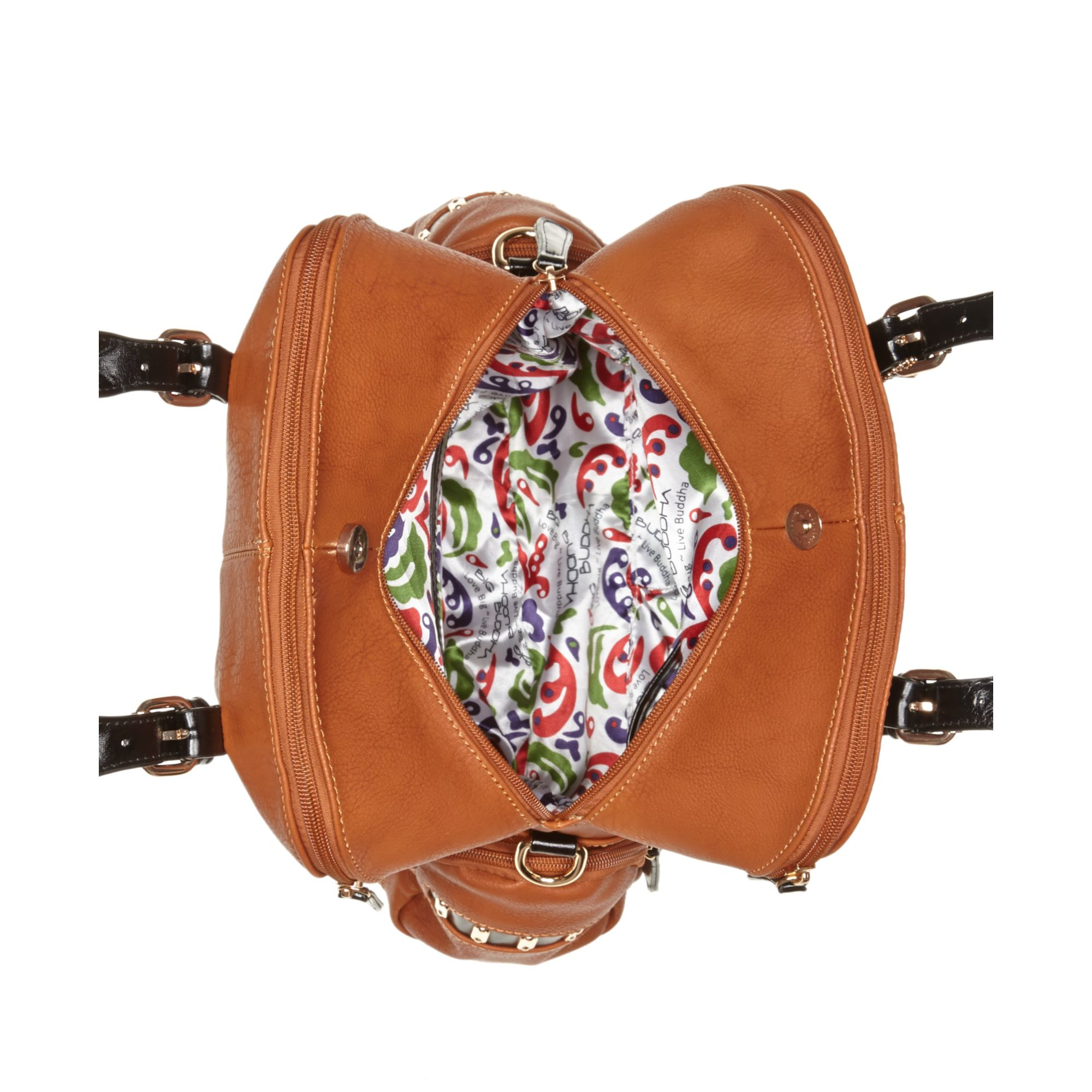 fadfbd4575 Lyst - Big Buddha Thyme Dome Satchel in Brown