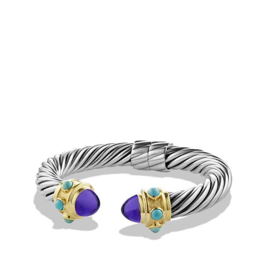 Lyst David Yurman Renaissance Bracelet With Amethyst