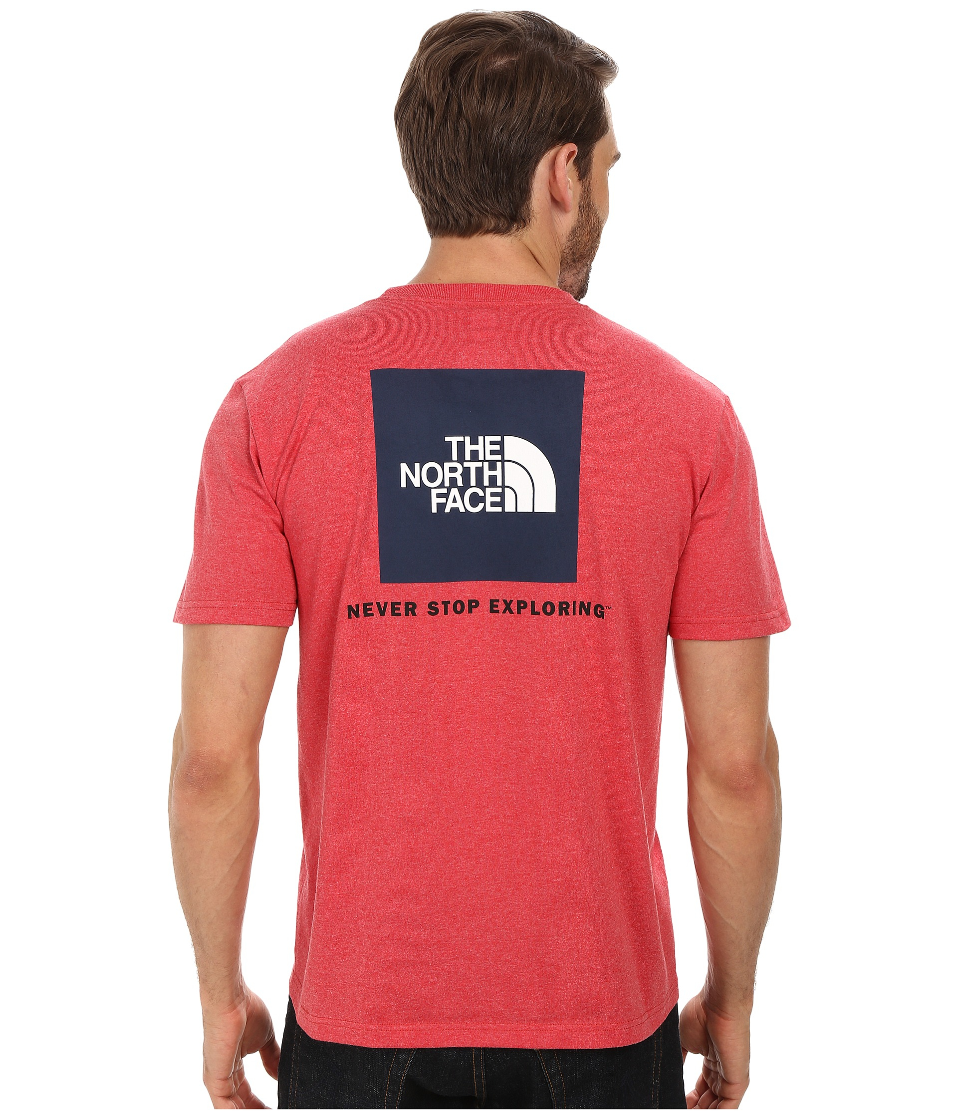 Lyst - The North Face S S Red Box Tee in Red 7ed20145dd03