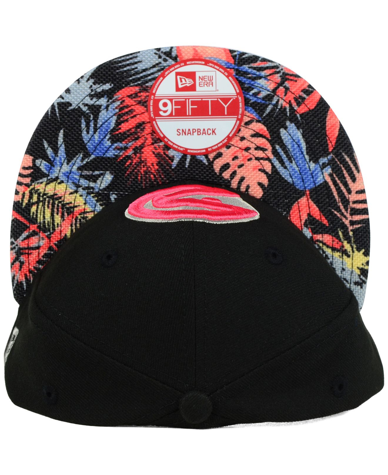 sale retailer b4218 1489d ... best price lyst ktz atlanta hawks fall floral 9fifty snapback cap for  men a11c9 5b542