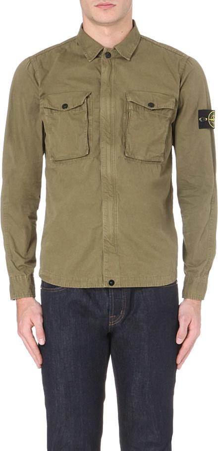 Cactus Green Stone Island Jacket