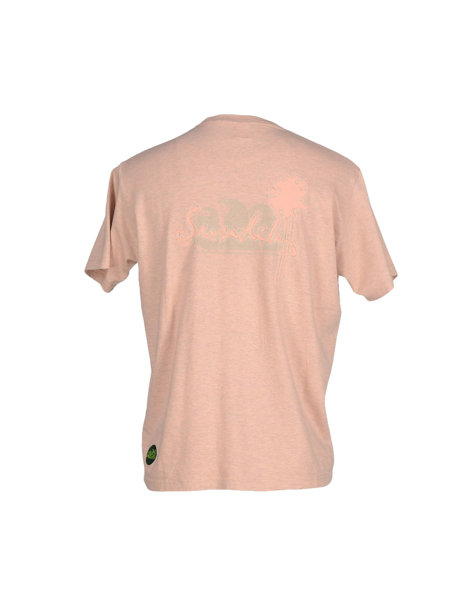 Sundek T Shirt In Pink For Men Lyst