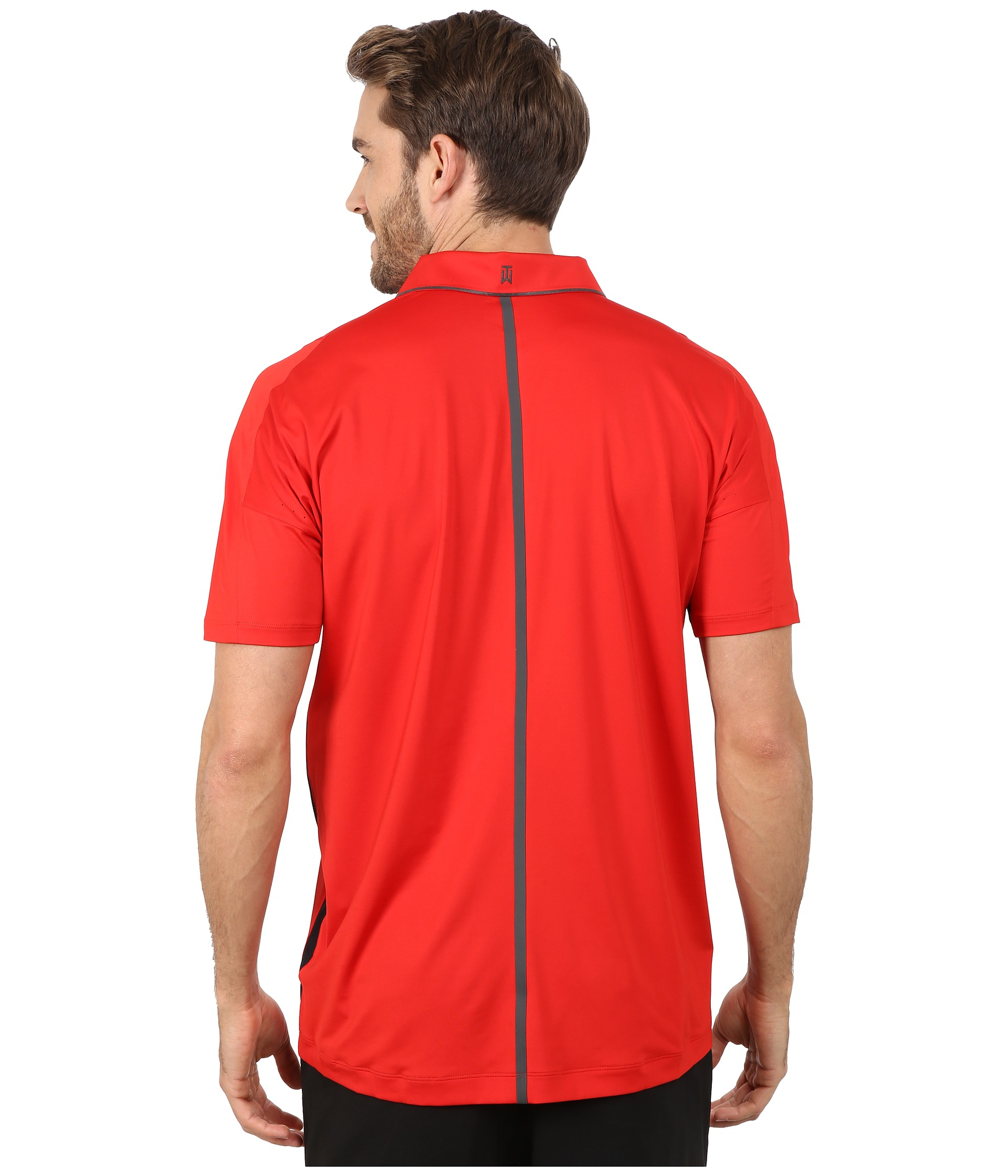078ba4d58 Nike Tiger Woods Velocity Ultra Polo Shirt in Red for Men - Lyst