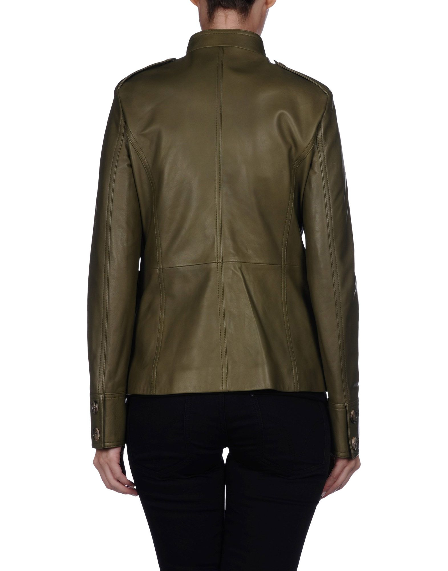 michael kors blazer in green lyst. Black Bedroom Furniture Sets. Home Design Ideas