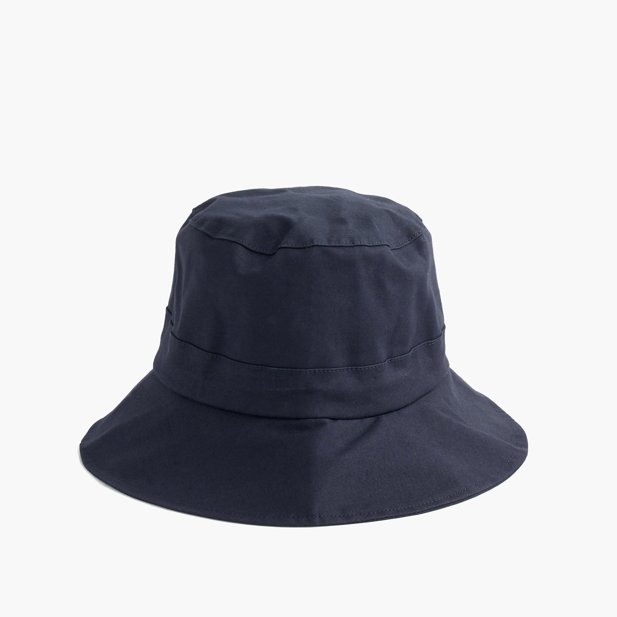 j crew hancock waterproof hat in blue lyst