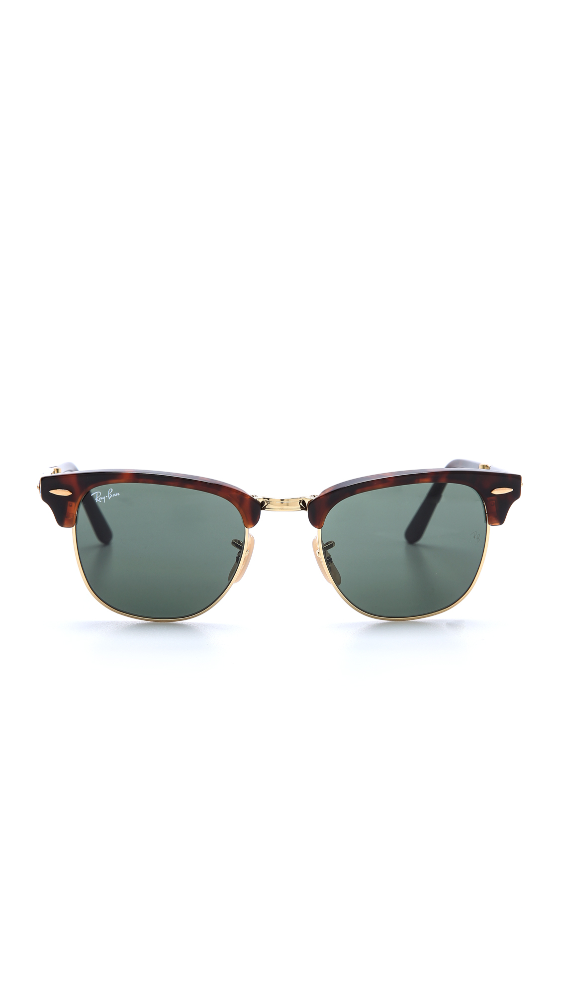 eca2e06360c Ray Ban Crystal Green And Black Clubmaster Sunglasses « Heritage Malta