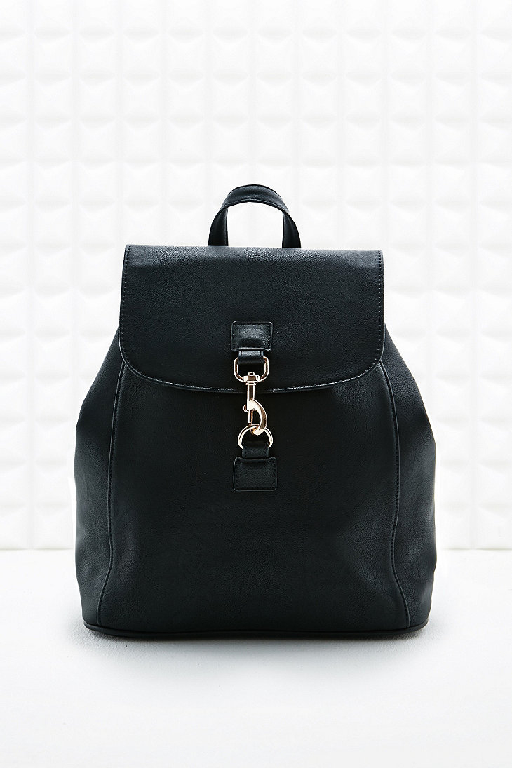 Urban outfitters Small Dog Clip Backpack in Black in Black for Men ...
