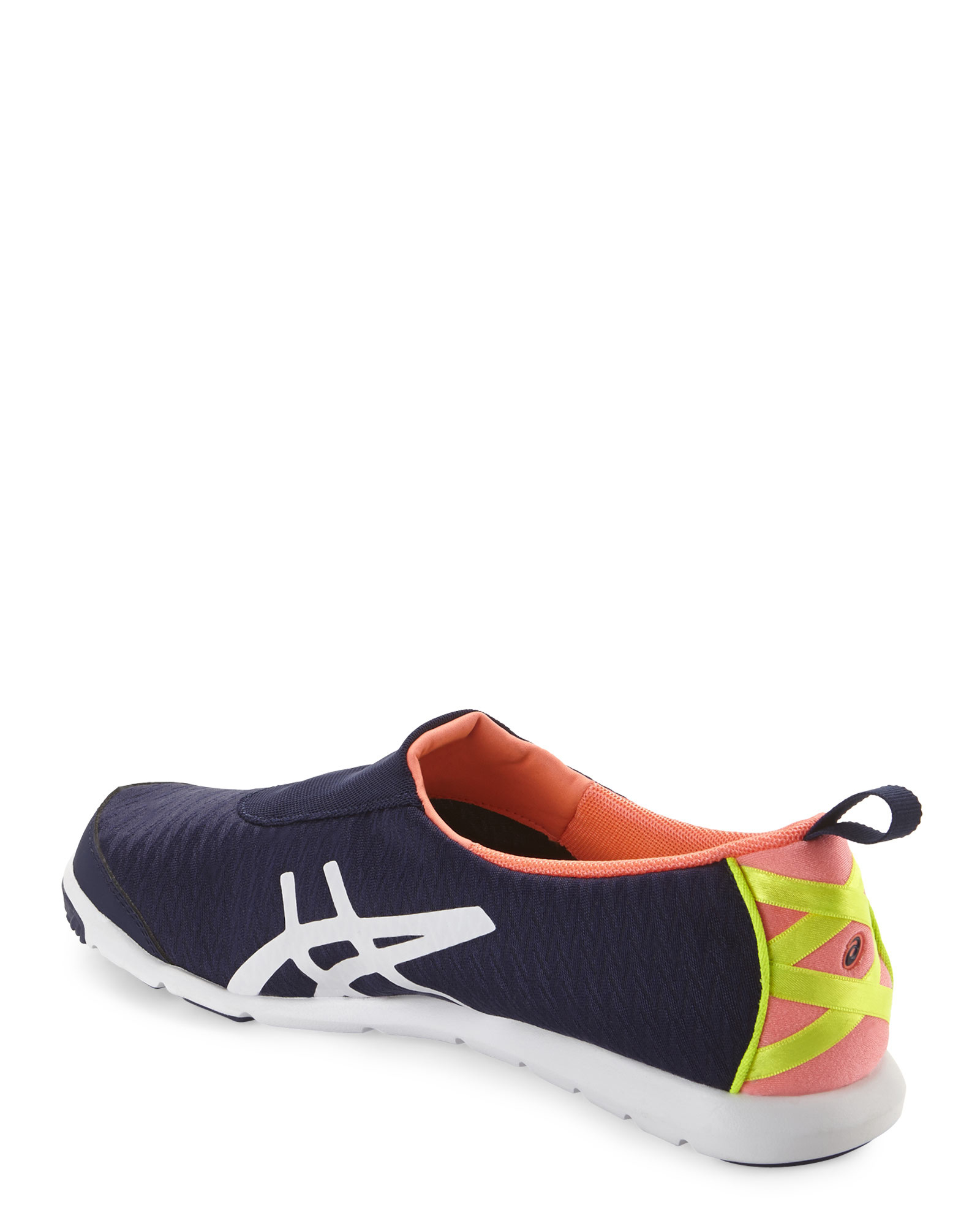 f9d0d6113a77 Slip in Blue Metrolyte Asics amp  On Lyst Navy Sneakers Coral 8FXazq