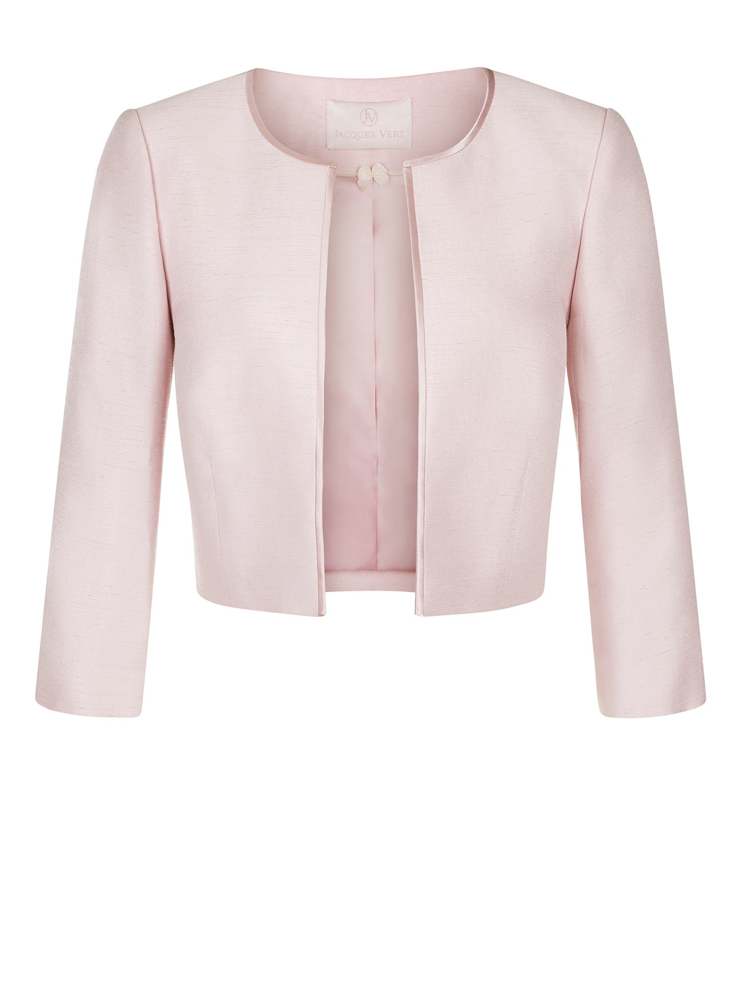 Cropped Pink Jacket - Coat Nj