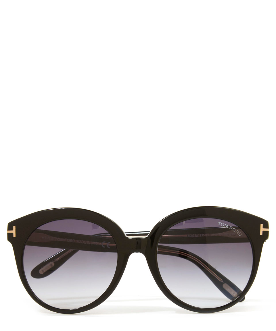 15624b9cf91 Lyst - Tom Ford Black Monica Sunglasses in Black