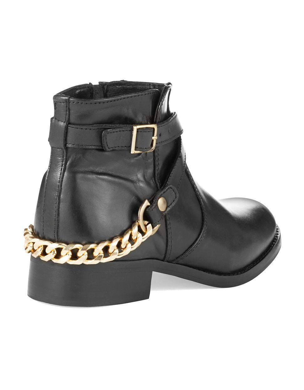 steve madden ringoo ankle boots in black lyst