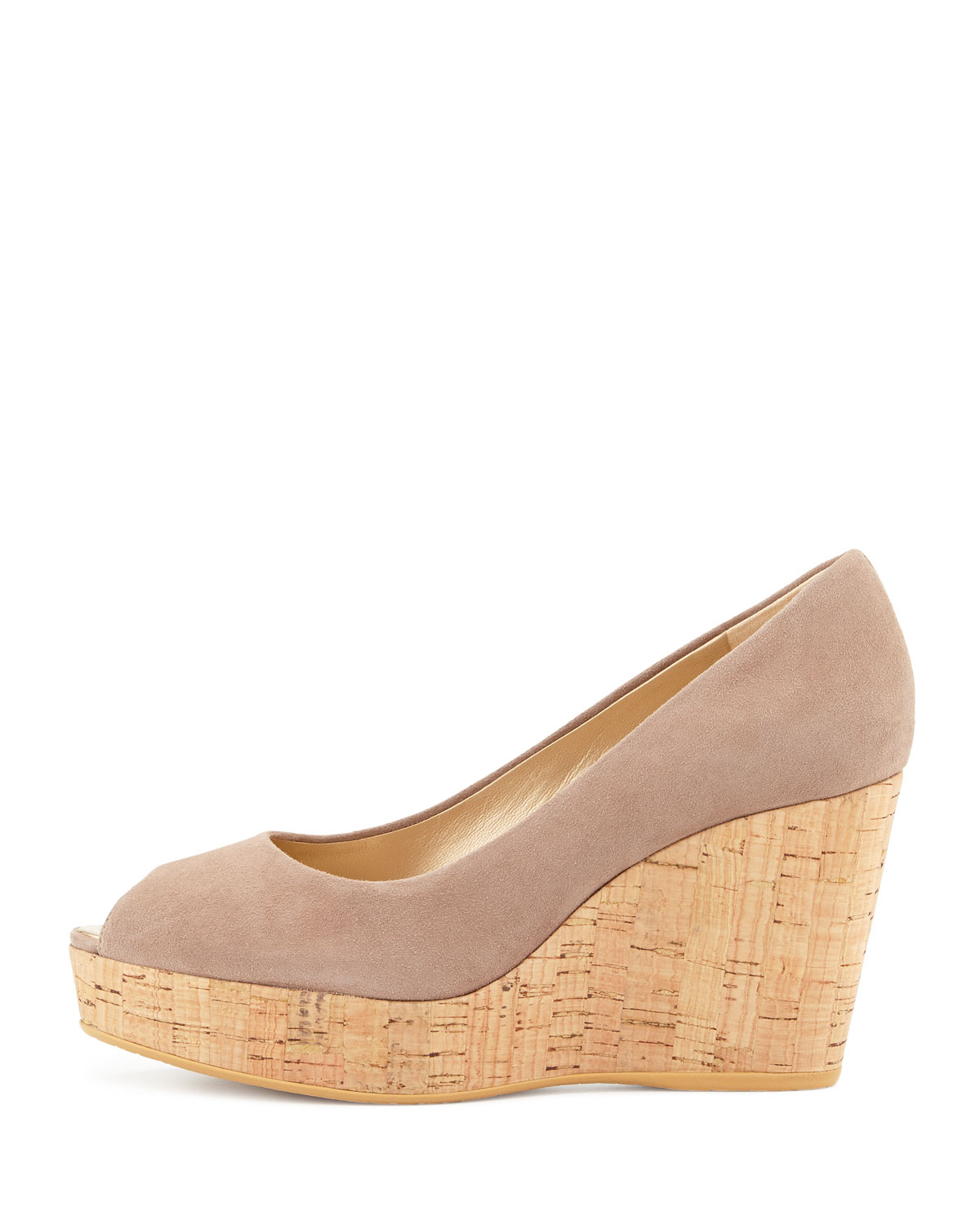 prices sale online free shipping extremely Stuart Weitzman Cap-Toe Wedge Pumps buy cheap lowest price 100% authentic for sale clearance exclusive Vy37x