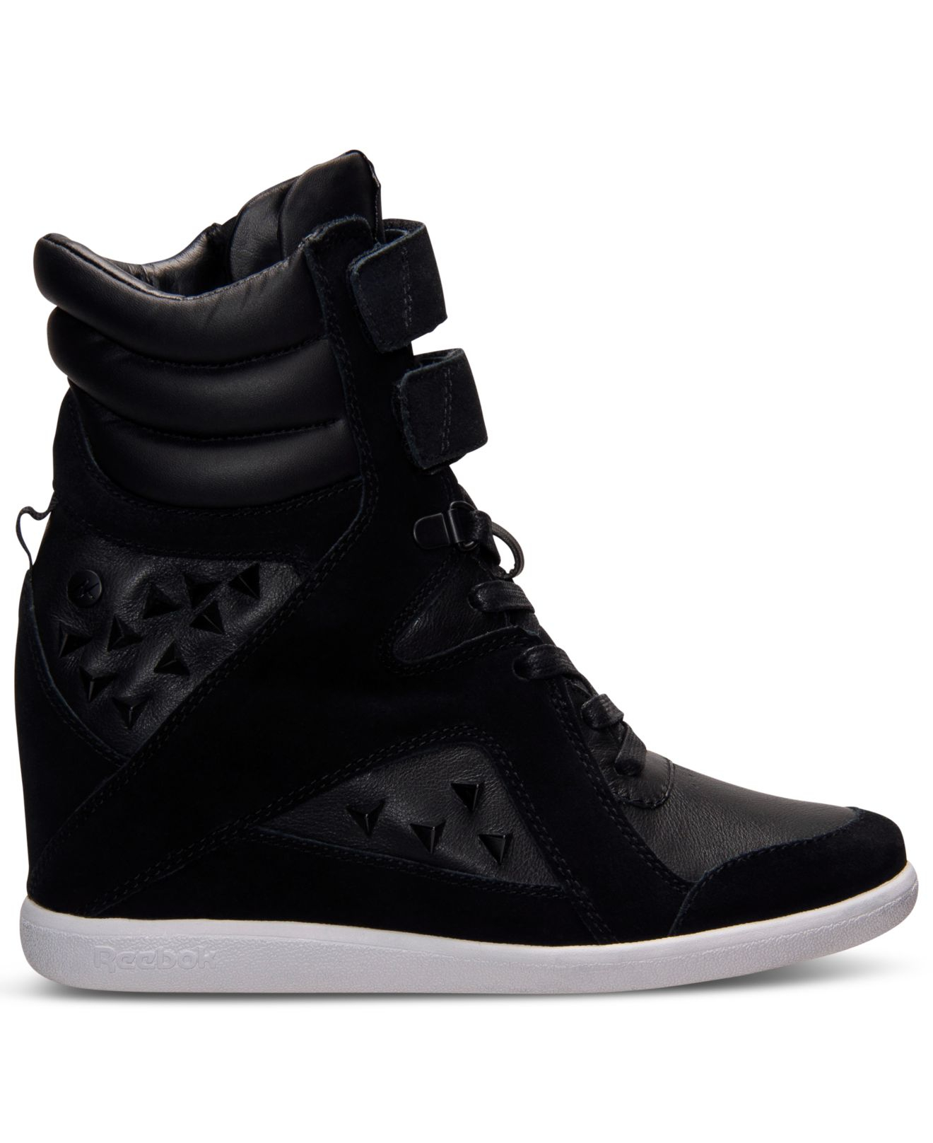 Lyst - Reebok Women S Alicia Keys Wedge Casual Sneakers From Finish ... e4b83efbd