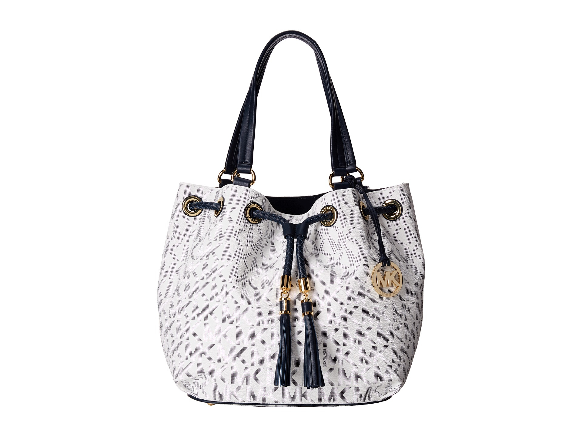 3157e333911b Lyst - MICHAEL Michael Kors Jet Set Large Gathered Tote in Gray
