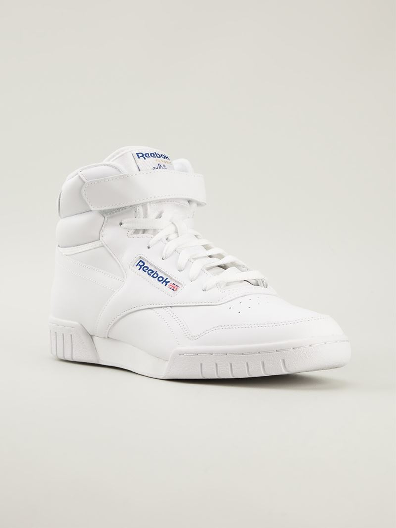 Search For Flights Mens Reebok exOFit HiTop Sneakers On Sale