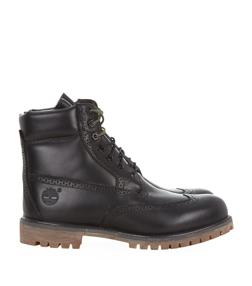 0395721aace44 Timberland Icon Waterproof Brogue Boot in Black for Men - Lyst