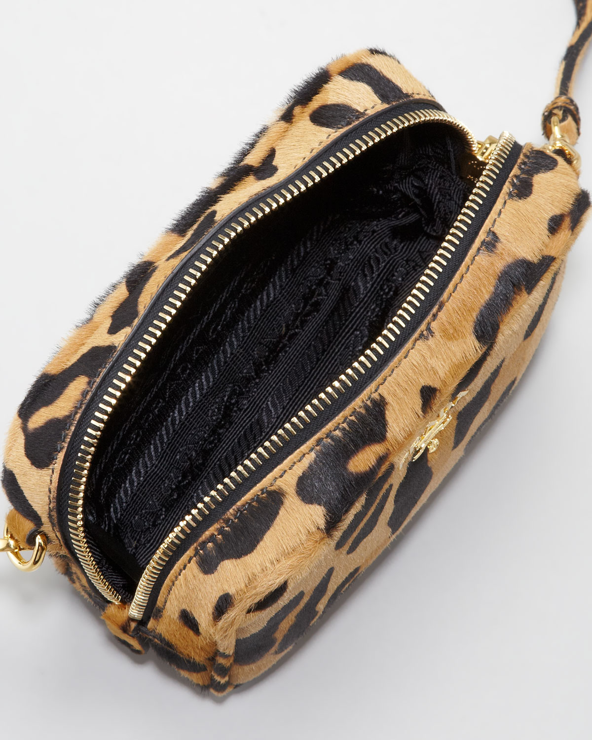 prada vela messenger bag sale - Prada Leopard-Print Mini Crossbody Bag in Animal (leopard) | Lyst