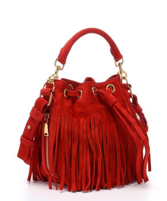 yves saint laurent cabas chyc mini leather satchel - yves saint laurent emmanuelle small fringed suede shoulder bag ...