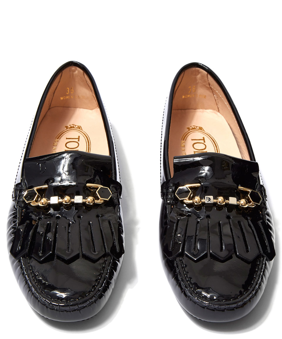 Gommino Driving Shoes - Black Tod's Ou5Bcf9