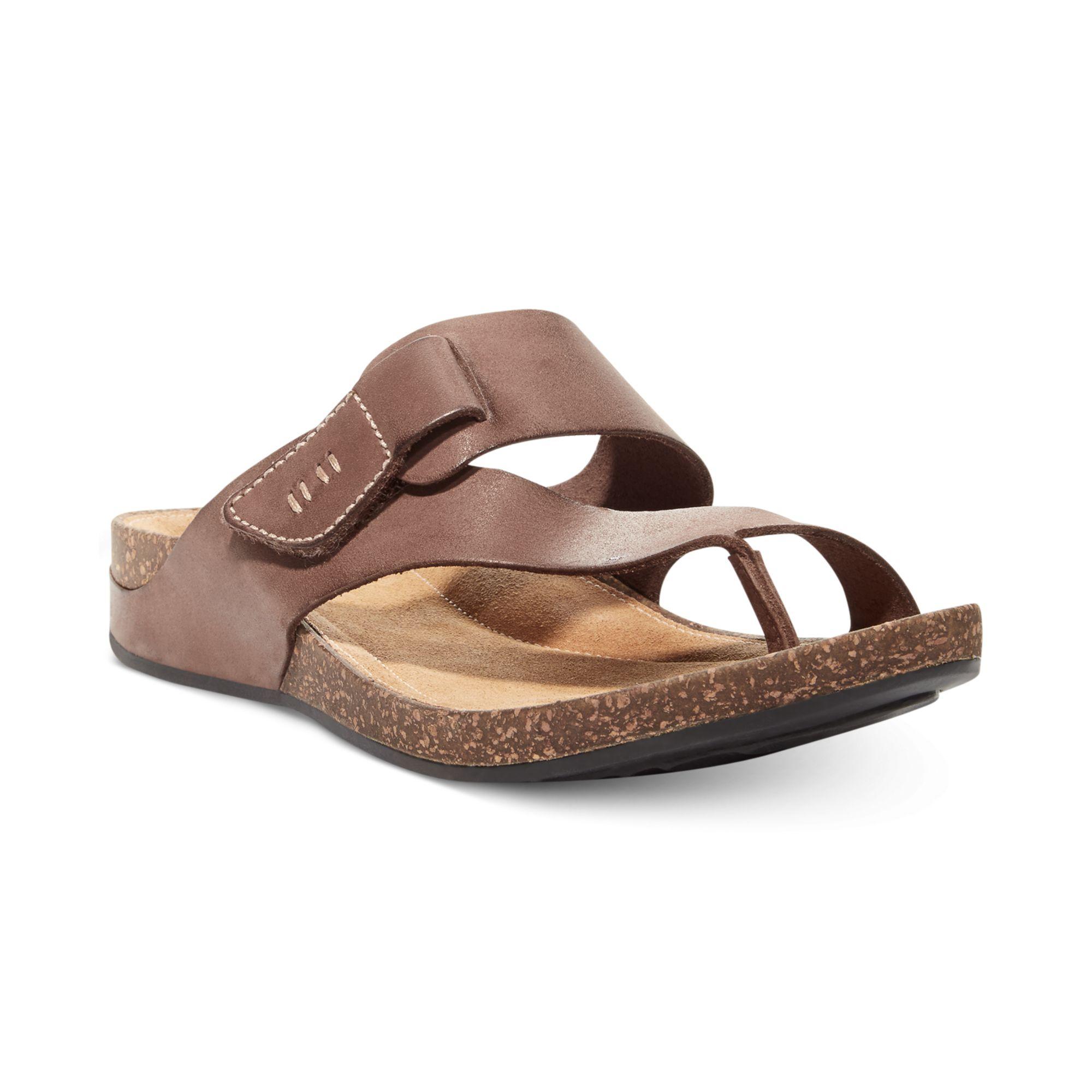 Lyst Clarks Womens Artisan Perri Coast Footbed Sandals