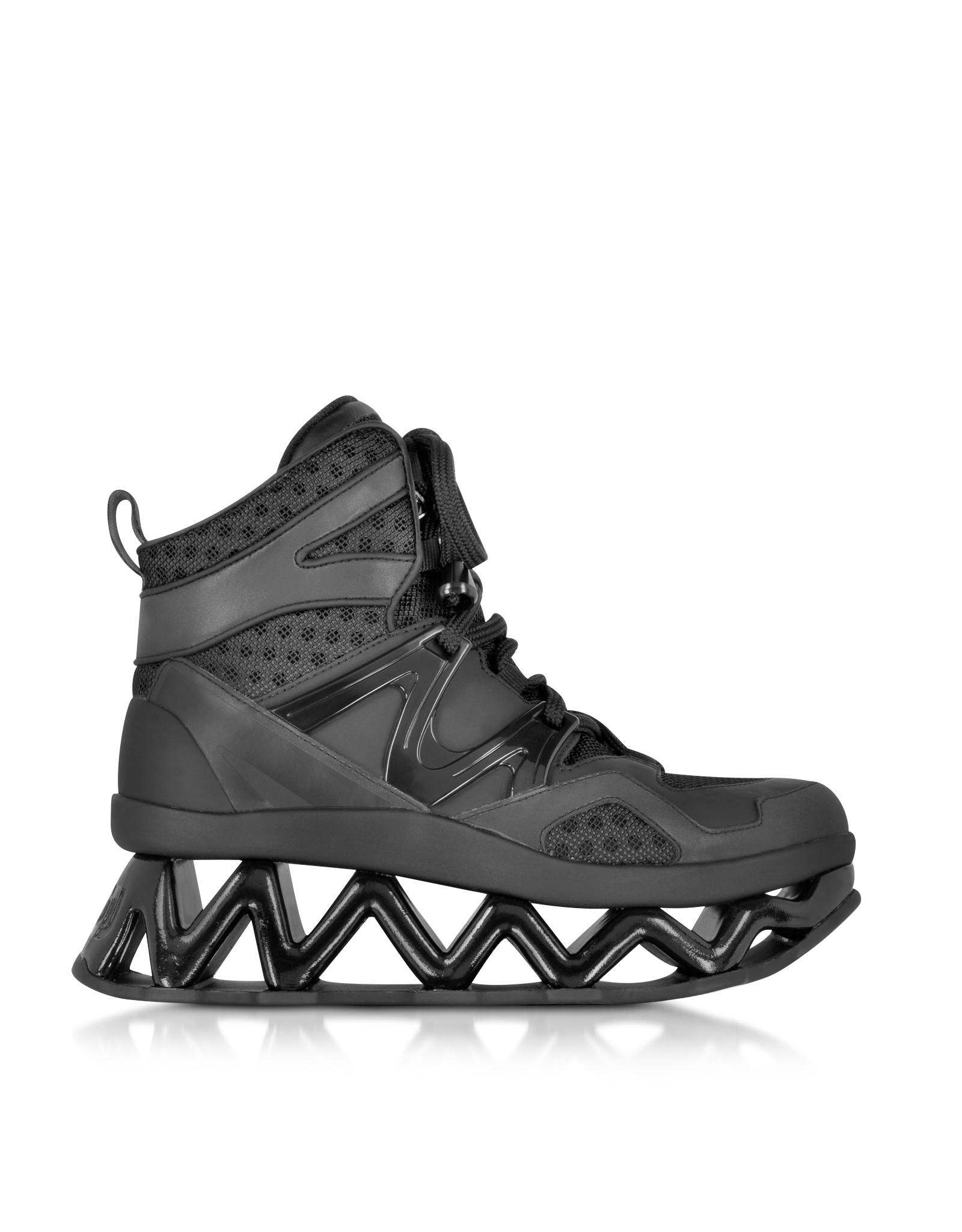 79d1552c55c Lyst - Marc By Marc Jacobs Black Tech Ninja Sneaker in Black