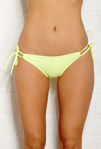 Yellow Bikini Bottom 62
