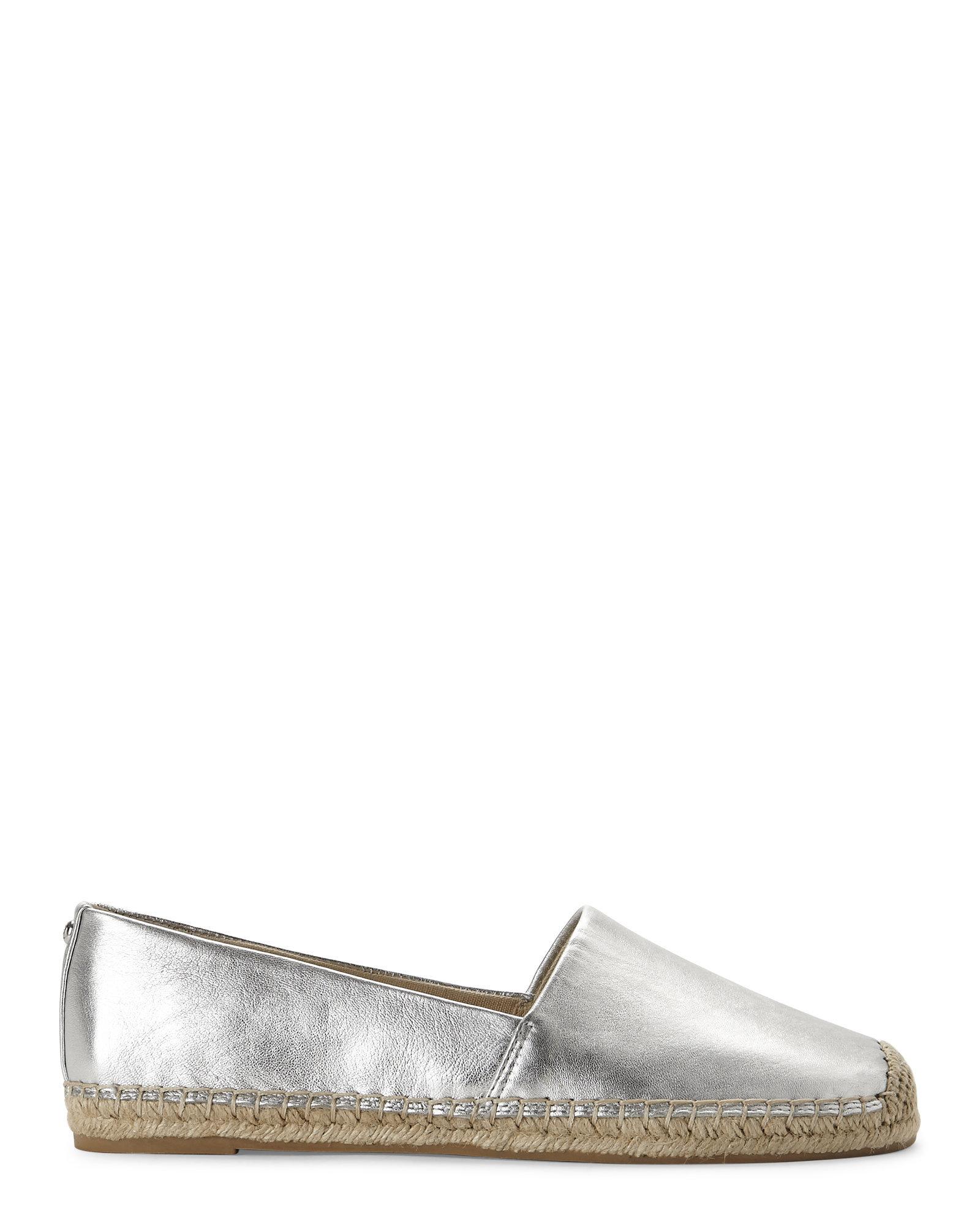 aacb8e9805c9e9 Lyst - Sam Edelman Silver Lynn Espadrille Flats in Metallic
