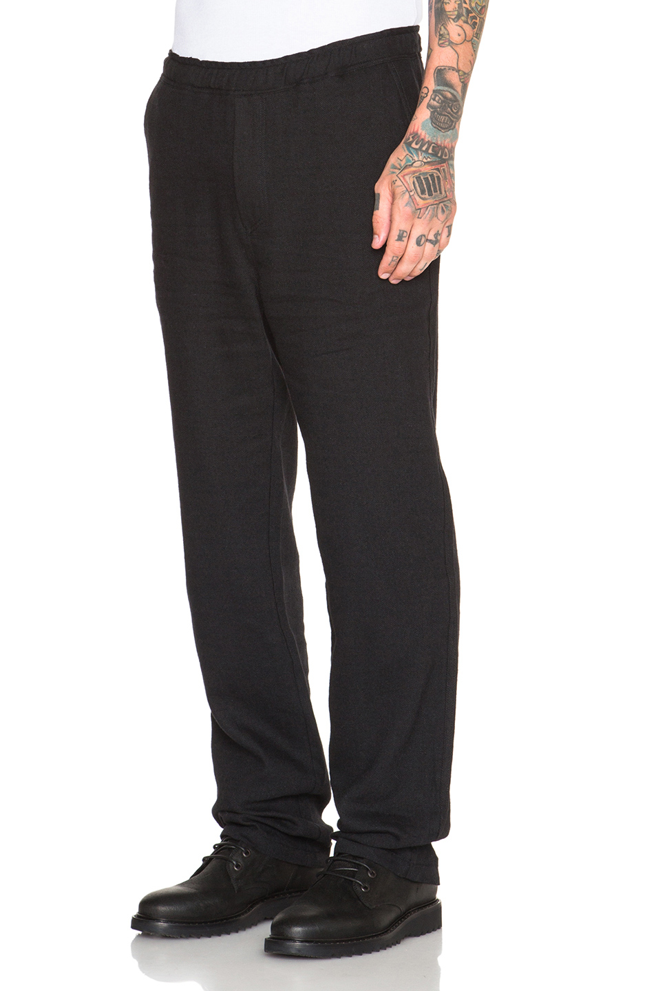 Our legacy Relaxed Wool Linen Trousers in Black | Lyst