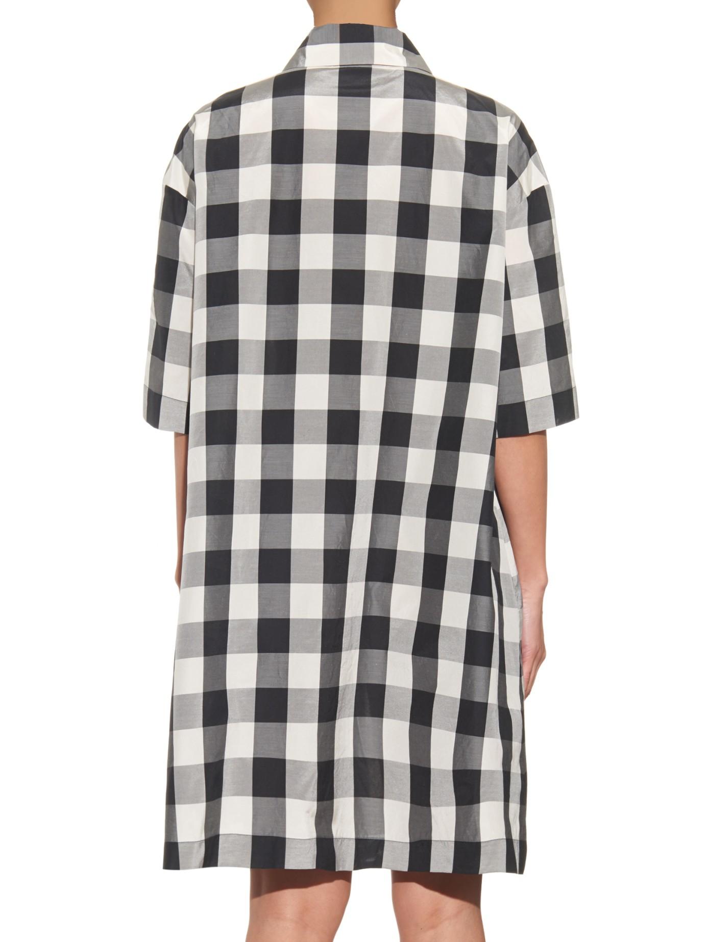 59b4e69af6 Checkered Shirt Dress Zara   Azərbaycan Dillər Universiteti